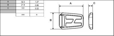 画像1: TK1520-02 黒 100個≪1袋≫