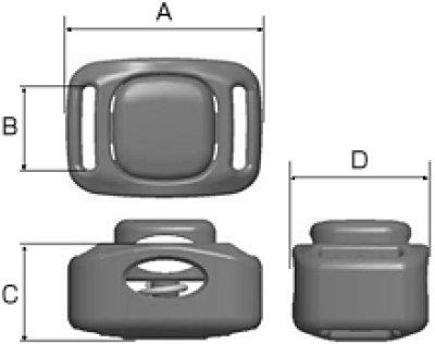 画像1: CLU1A-02 黒 100個≪1袋≫
