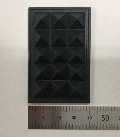 画像2: 底板 PQ-54 黒 《100個入/1袋》