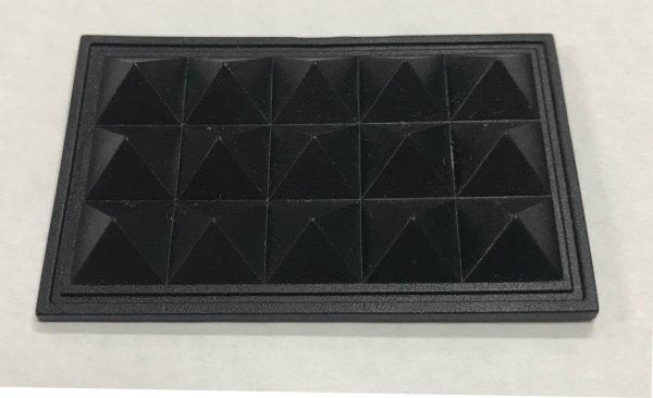 画像1: 底板 PQ-54 黒 《100個入/1袋》 (1)