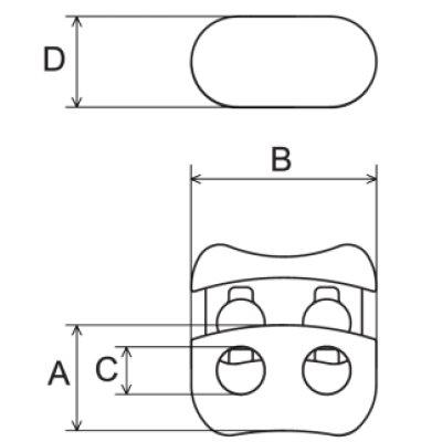 画像1: FCL2-02 黒 100個≪1袋≫